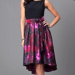SLNY hi-low dress